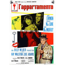 The Apartment Movie 1960 Jack Lemmon 3 Poster