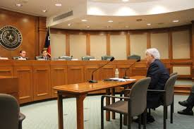 dr raymond peredes testifies before the texas house higher education mittee