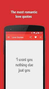 Love Quotes App Inspiration App] Love Quotes Valentine's Day Android Apps Games Android