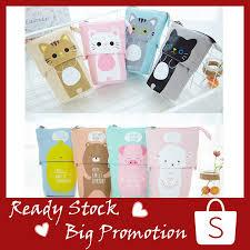 <b>1PC</b> Store Pencil Case Box <b>Cartoon Cute</b> Cat Telescopic Pencil Bag ...