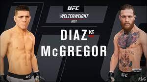 EA Sports UFC 4 - Nick Diaz vs Conor ...