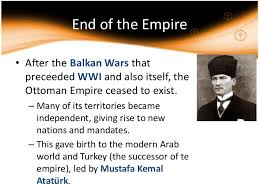 「end of ottoman empire」の画像検索結果