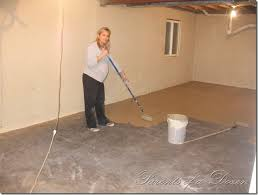 concrete basement floor ideas fresh in perfect unfinished the easy a and painting on model