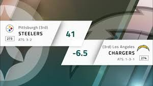 Nfl Week 6 Betting Preview Pittsburgh Steelers At Los Angeles Chargers