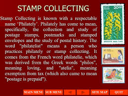 presentation on stamp collecting stamp collecting
