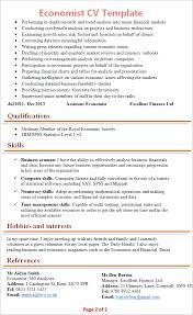 economist-cv-template-2