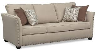 mckenna queen memory foam sleeper sofa loveseat and accent chair set sand