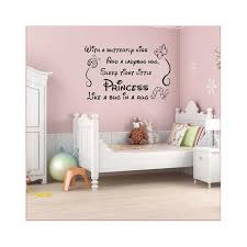 art vinyl nursery baby decor girl princes wall decor