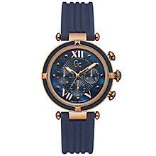 gc watches ernest jones gc ladychic ladies rose gold plated strap watch product number 6276490