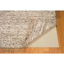 linon home decor underlay ultra grip natural 2 ft x 3 ft hard surface rug pad pad ul0223 the home depot