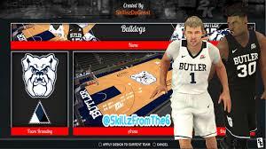 Nba 2k17 Depth Chart Nba 2k17 2016 17 Butler Bulldogs Jerseys Arena Tutorial