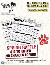 Calendar Raffle Template Get Your Calendar Raffle Tickets Win Money And Help Homeless Dogs