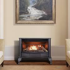 ... ProCom Vent Free 25K BTU Free Standing Gas Stove Fireplace