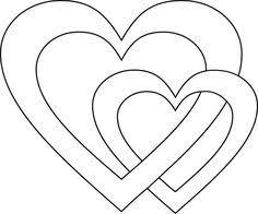 Wir zeigen ihnen jede menge bunte eier, süße häschen und viele dekoideen zum selbermachen. 8 Herz Vorlage Ideen Herz Vorlage Holz Herz Herzschablone