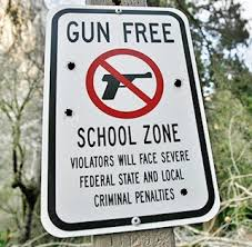 Image result for Gun free zones