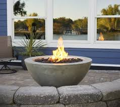 gas fire bowl. Brilliant Fire Outdoor GreatRoom Round Cove Fire Bowl 42 With Gas R