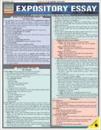 expository essay  quickstudy  academic   inc  barcharts    expository essay  quickstudy  academic   inc  barcharts      amazon com  books