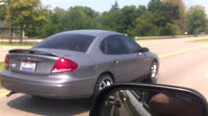 Ford Taurus on 20's On Rt. 23 in Delaware, Ohio - YouTube