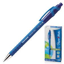 Купить <b>Ручка шариковая автоматическая</b> сгрипом PAPER MATE ...