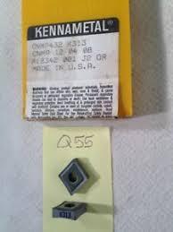 Details About 6 New Kennametal Cnmp 432 Carbide Inserts Cnmp 12 04 08 Grade K313 Q55