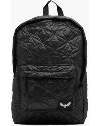 Boohoo Black Canvas Rucksack With Pu Panel in Black for Men | Lyst & Boohoo | Quilted Rucksack | Lyst Adamdwight.com