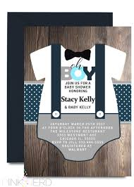 Onesie Baby Shower Invitations Onesie Birthday Invitation Little Man Invitation