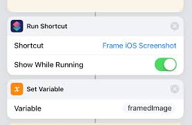 new call to run shortcut
