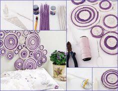 mirror wall decor circle panel: diy wall decor circles  diy wall decor circles