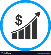 Sales Chart Sales Bar Chart Rounded Icon
