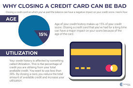How bad is it to close a credit card. Is Closing A Paid Off Credit Card Account Good Or Bad