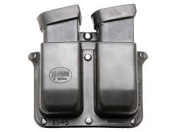 Double Stack Magazine Holder Fobus Belt Double Mag Pouch DoubleStack Glock MPN 41BH 1