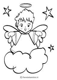 18 Disegni Di Angeli Da Colorare Amigrumi Colori Disegni E Angeli