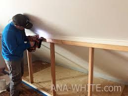 door knee wall ana white