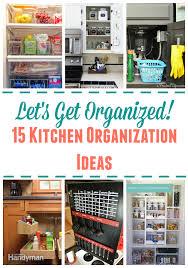 Kitchen Organization Kitchen Organization Ideas