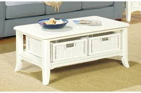 ... Rectangle Wood Antique White Coffee Table Designs Ideas With Storage:  Antique White Coffee ... Nice Design