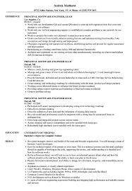 Principal Software Engineer Lead Resume Samples Velvet Jobs
