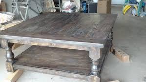 pretty massive coffee table