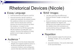 women and gender studies nicole dayna danny katie ppt  7 rhetorical devices nicole essay
