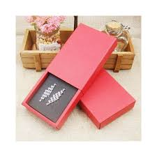12pcs 4color Jewelry Gift Boxes Cardboard Boxes For