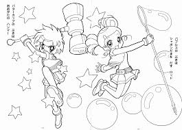 11 Pics Of Ppgz Anime Coloring Pages Powerpuff Girls Z Coloring