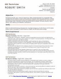 Personal Interest Resume Gis Technician Resume Samples Qwikresume