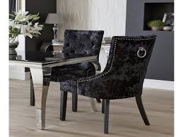 ring back dining chair unique dita velvet lion