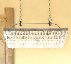 clarissa rectangular chandelier glass drop with extra long pottery barn and 9 media id c h 4