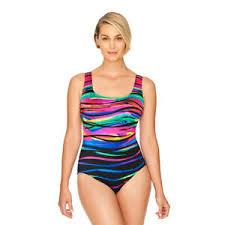 Longitude Swimwear Size Chart Details About Longitude Robby Len 12 Heatwave Cross Back Swimsuit Nwt