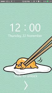 Gudetama Lock Screen Hd Wallpaper Für Android Apk