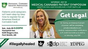 Smith Symposium July 29th Medical Fort Patient Industry Arkansas Association – Cannabis