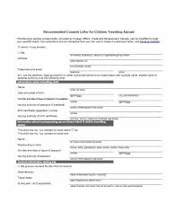 notarized letter template 20 consent letter for children travelling abroad