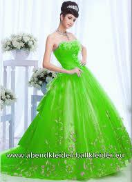 Neon Grünes Abendkleid Ballkleid Bodenlang | Damenmode 2017: Alle ...