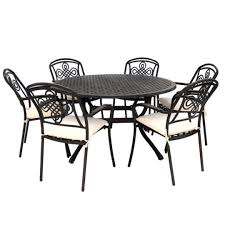 metals used for garden furniture