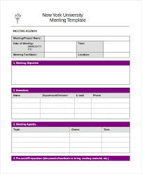 Template Agenda Word Word Agenda Template 6 Free Word Documents Download Free